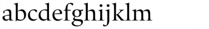 Quant Regular Font LOWERCASE