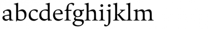 Quant Text Font LOWERCASE