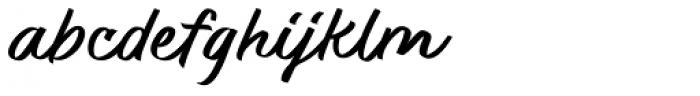 Quantia Regular Font LOWERCASE
