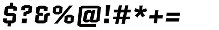Quantico Bold Italic Font OTHER CHARS