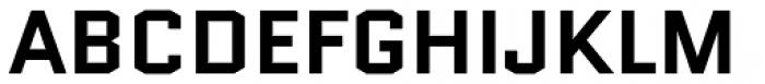 Quantico Bold Font UPPERCASE