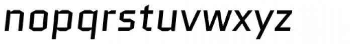 Quantico Italic Font LOWERCASE
