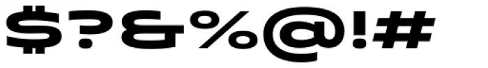 Quantum Latin Bold Font OTHER CHARS