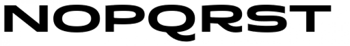 Quantum Latin Bold Font UPPERCASE