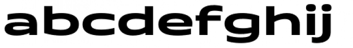 Quantum Latin Bold Font LOWERCASE