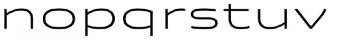 Quantum Latin Light Font LOWERCASE