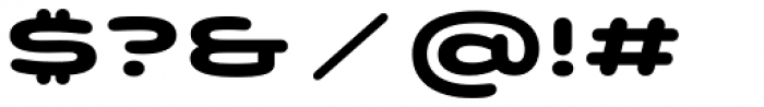 Quantum Latin Rounded Bold Font OTHER CHARS