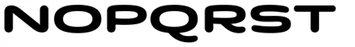 Quantum Latin Rounded Bold Font UPPERCASE