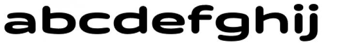 Quantum Latin Rounded Bold Font LOWERCASE
