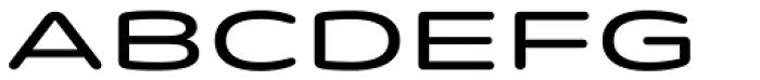 Quantum Latin Rounded Medium Font UPPERCASE