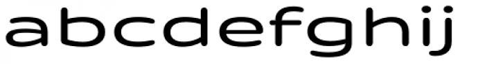 Quantum Latin Rounded Medium Font LOWERCASE