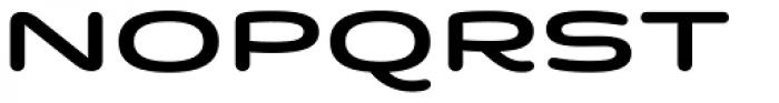Quantum Latin Rounded Semibold Font UPPERCASE