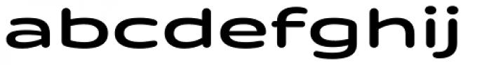 Quantum Latin Rounded Semibold Font LOWERCASE