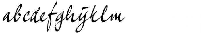 Quarantinus Regular Font LOWERCASE