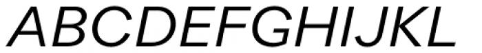 Quarion Book Italic Font UPPERCASE