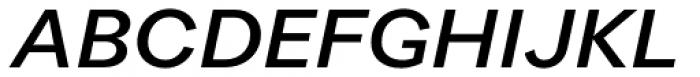 Quarion Medium Italic Font UPPERCASE