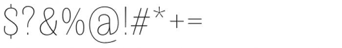 Quartal Extended SuperLight Font OTHER CHARS