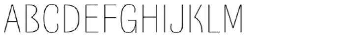 Quartal Extended SuperLight Font UPPERCASE