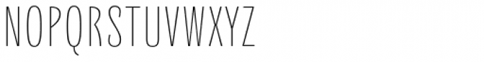 Quartal SuperLight Font UPPERCASE