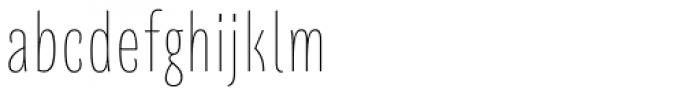Quartal SuperLight Font LOWERCASE