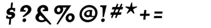 Quartet Smallcaps Bold Font OTHER CHARS