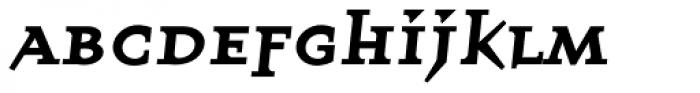 Quartet Smallcaps Bold Font LOWERCASE