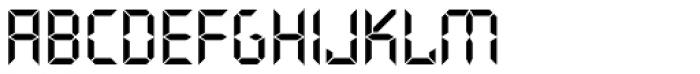Quartz Com Bold Font LOWERCASE