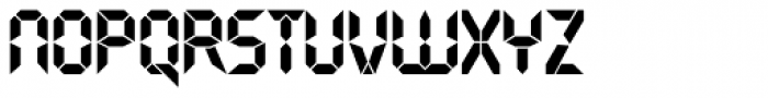 Quartz TS Bold Font LOWERCASE