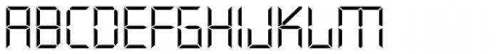 Quartz TS Light Font UPPERCASE