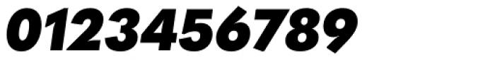 Quasimoda Black Italic Font OTHER CHARS