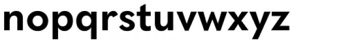 Quasimoda Bold Font LOWERCASE