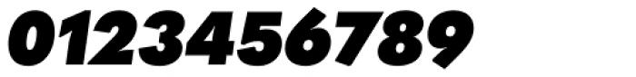 Quasimoda Heavy Italic Font OTHER CHARS