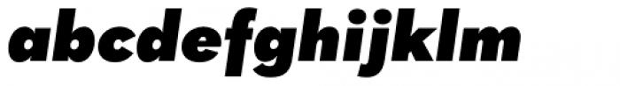 Quasimoda Heavy Italic Font LOWERCASE