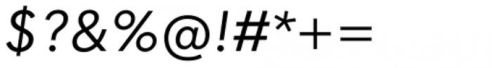 Quasimoda Italic Font OTHER CHARS