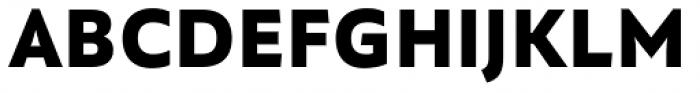 Quat Black Font UPPERCASE