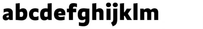 Quat Black Font LOWERCASE
