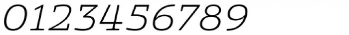 Quatie Ext Light Italic Font OTHER CHARS
