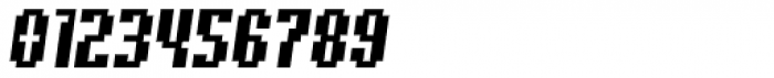 Quatrus Italic Font OTHER CHARS