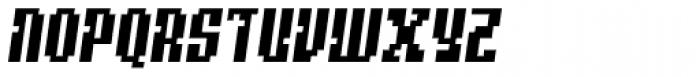 Quatrus Italic Font UPPERCASE