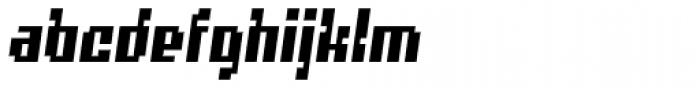 Quatrus Italic Font LOWERCASE
