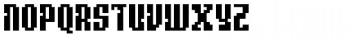 Quatrus Font UPPERCASE