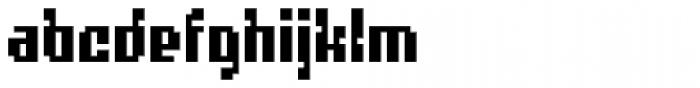 Quatrus Font LOWERCASE