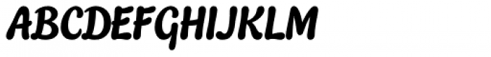 Quayside Font UPPERCASE