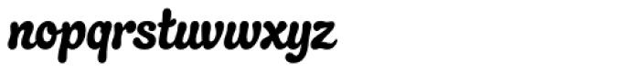 Quayside Font LOWERCASE