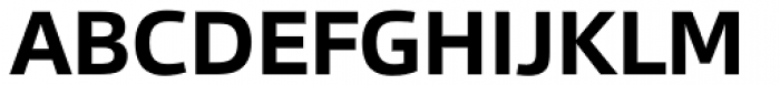 Qubo Bold Font UPPERCASE