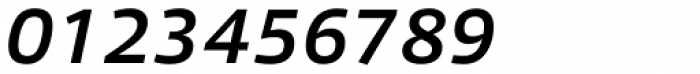Qubo Medium Italic Font OTHER CHARS