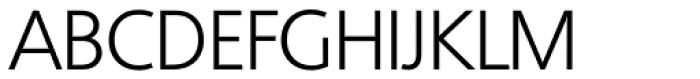 Quebec Serial Light Font UPPERCASE