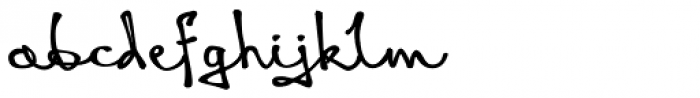 Queen Black Font LOWERCASE