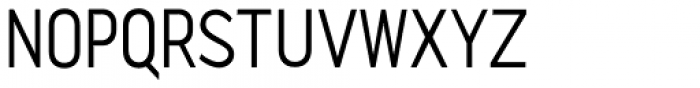 Quenbach Condensed Font UPPERCASE