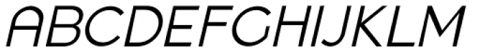 Quenbach Italic Font UPPERCASE